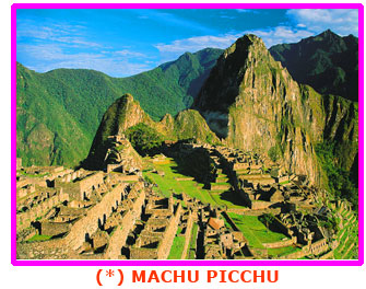 Machu PIcchu Vista General